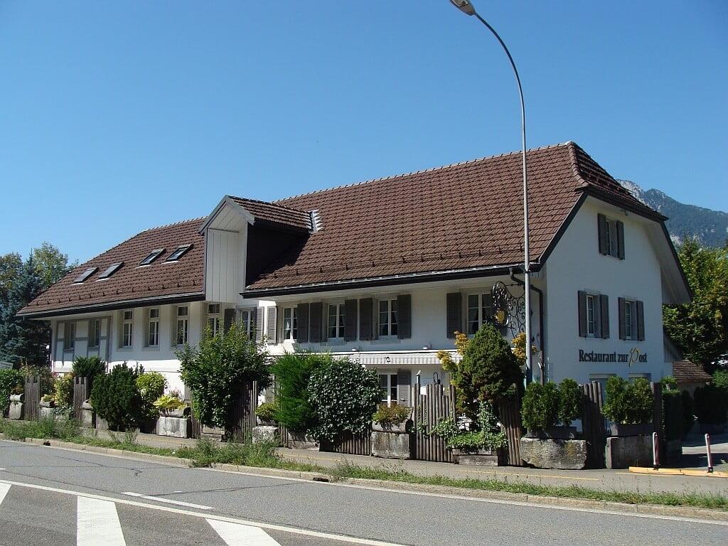 Fassadensanierung durch die Viktor Wyss AG in Flumenthal, Solothurn