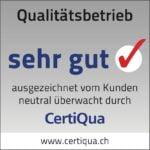 Viktor Wyss AG in Flumenthal ist ein CertiQua zertifizierter Qualitätsbetrieb
